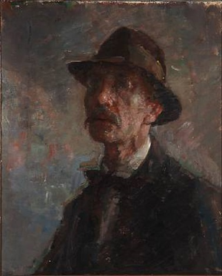 the artists selfportrait by julius paulsen