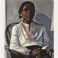 mexican woman seated by gordon mckinley webber