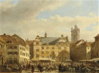 a capriccio view of prague by kasparus karsen