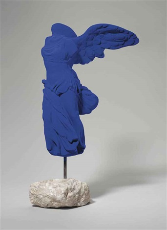 victory of samothrace by yves klein