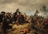 a general on the battlefield during the 30 years war by christian sell