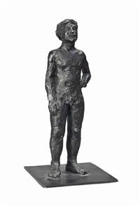 stehender nackter mann (standing nude man) by stephan balkenhol