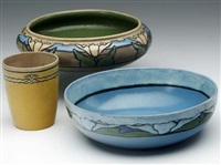 two bowls (+ mug; 3 works) by paul revere