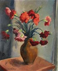 bouquet de fleurs by charles alexandre picart le doux