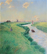 by the zuiderzee by hubert ritzenhofen