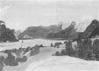 wolfgangsee by rudolf holzinger