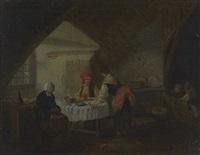 le repas des paysans by marc antoine bilcoq