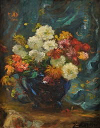 bouquet de fleurs by jacques martin