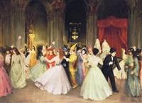 álarcosbál - masquerade by josef korusz