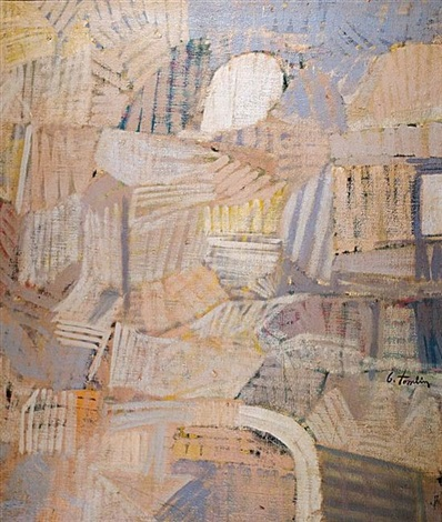 abstract composition by bradley walker tomlin