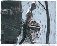 frontwards, backwards, sidewards (3 works) by euan macleod
