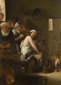 la visite chez le chirurgien by egbert van heemskerck the elder