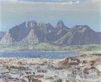 stockhornlandschaft by alfred glaus
