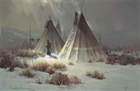 lonely camp by robert wagoner