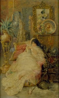 in the boudoir by horacio lengo y martinez