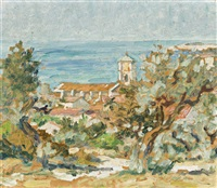 south of france by rupert bunny