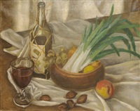 still life with flowers by lucile blanch
