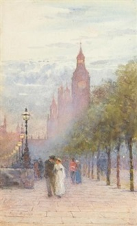 houses of parliament and westminster by rose maynard barton