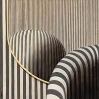 poltrona e specchio by gianfranco goberti