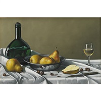 hazel nut, pears and wine by paul andre