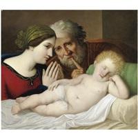 sacra famiglia by gaspare landi