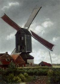 moulin de kiel by theodor verstraete