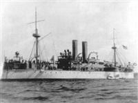 u.s. battleship marine by augustus loeffler