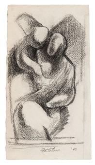 mother/child by lorser feitelson
