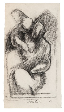 motherchild by lorser feitelson