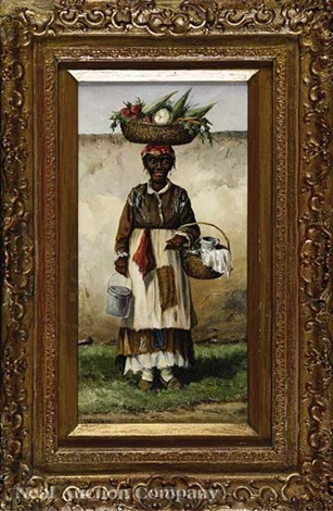 vegetable seller charleston s c by william aiken walker