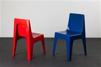 zwei stühle valon (pair) by reppel & vollmann gmbh