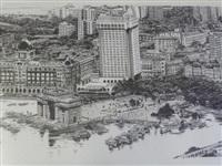 vue du port de bombay by patrice serres