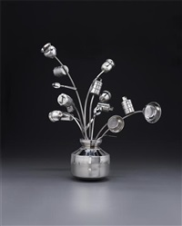 untitled (pot de fleurs) by subodh gupta