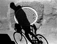 bicicletta (from the shadow series) by alberto rizzo