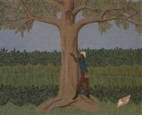 le chasseur d'oiseaux by philomé obin