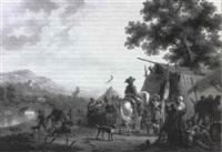 la levee de camp by adolphe eugène gabriel roehn
