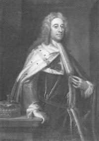 portrait of the viscount of torrington by jeremiah davison