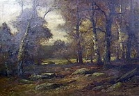 forest interior by charles linford