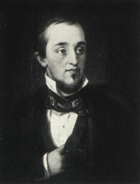portrait of unknown man from san francisco by william jewett
