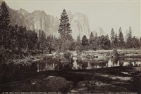 river view, cathedral rocks, 2,678 feet, yosemite, cal. by isaiah west taber