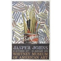 savarin (whitney museum of american art) by jasper johns