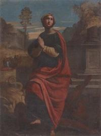 saint margaret of antioch by giovan battista benvenuti