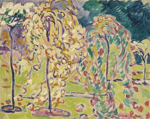 bagatelle la roseraie by louis valtat