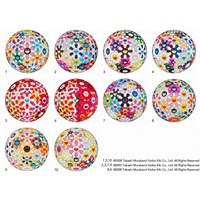 flowerball (10 works) by takashi murakami