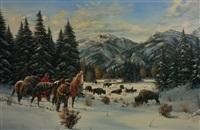 buffalo hunters by gerry michael metz