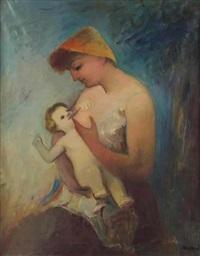 maternité by georg jerzy merkel