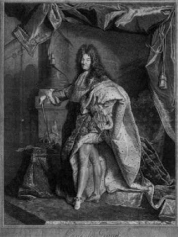 louis xiv by pierre drevet