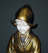 dutch boy and girl (2 works) by francis la monaca