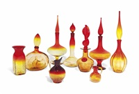 untitled (10 works) by blenko glass company