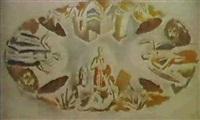 boceta para un fresco de techo con representaciones by aurelio arteta y errasti